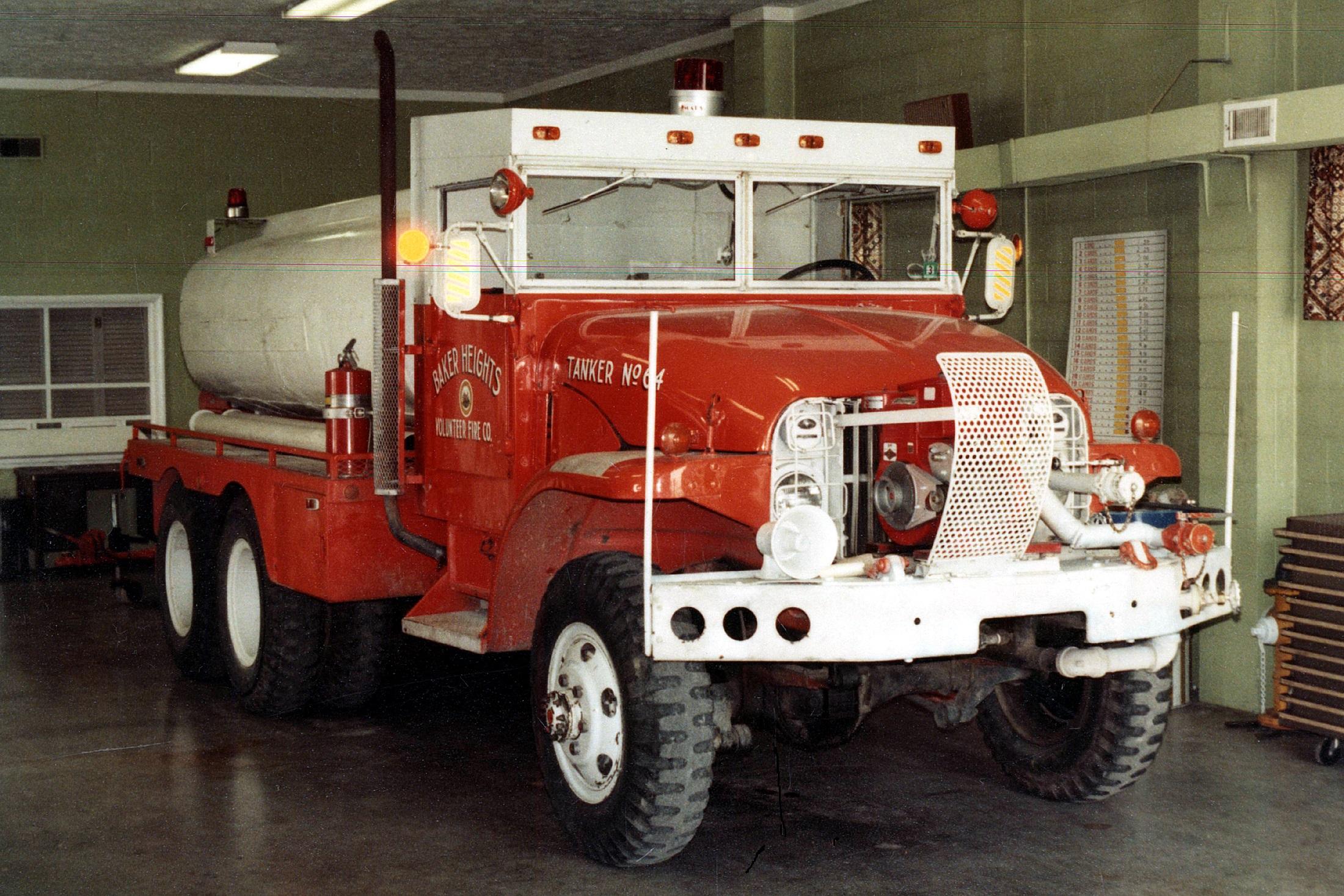 WV, Baker Heights Volunteer Fire Department